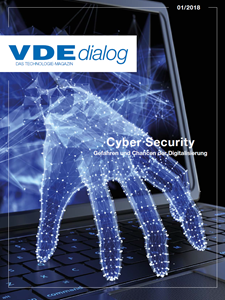 Picture of VDE dialog 01/2018 Cyber Security (Download)