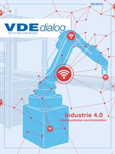 Bild von VDE dialog 02/2018 Industrie 4.0 (Download)