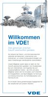 Bild von Willkommen im VDE (Download)