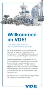 Bild von Willkommen im VDE