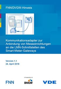 Bild von FNN/DVGW-Hinweis: Kommunikationsadapter zur Anbindung von Messeinrichtungen an die LMN-Schnittstellen des Smart-Meter-Gateways (Download)