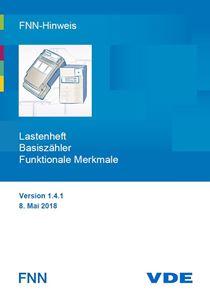Bild von FNN-Hinweis: Lastenheft Basiszähler - Funktionale Merkmale - Version 1.4.1 (Download)