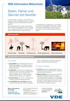 Bild von Reiten, Fahren und Säumen bei Gewitter (Flyer, Download)