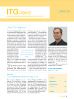 Bild von ITG-News 04/2018 - NewSpace Communications (Print)