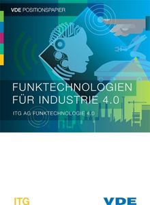 "Picture of VDE Positionspapier ""Funktechnologien für Industrie 4.0"""