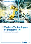"Picture of VDE Position Paper ""Wireless Technologies for Industrie 4.0"" (Download)"