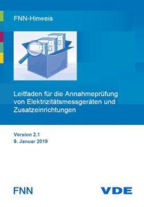 Bild von FNN-Hinweis: Leitfaden für die Annahmeprüfung von Elektrizitätsmessgeräten und Zusatzeinrichtungen (Download)
