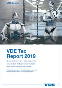 Picture of VDE Tec Report 2019: Industrielle KI - die nächste Stufe der Industrialisierung? (Download)