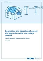 Picture of Connection and operation of energy storage units on the low-voltage network
