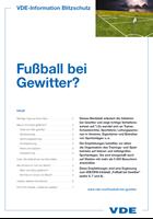 Bild von Fußball bei Gewitter? (Print)