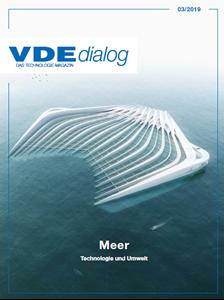Bild von VDE dialog 03/2019 - Meer - Technologie und Umwelt (Download)