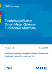 Picture of FNN-Hinweis: Testfallspezifikation Smart-Meter-Gateway Funktionale Merkmale