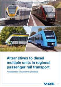 Bild von Alternatives to diesel multiple units in regional passenger rail transport (Download)