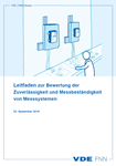 """Picture of FNN-Hinweis """"Leitfaden zur Bewertung der Zuverlässigkeit und Messbeständigkeit von Messsystemen"""""""