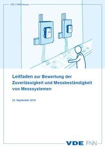 """Bild von FNN-Hinweis """"Leitfaden zur Bewertung der Zuverlässigkeit und Messbeständigkeit von Messsystemen"""""""