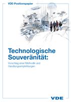 """Bild von VDE-Positionspapier """"Technologische Souveränität"""" (Download)"""