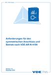 """Picture of FNN-Hinweis """"Anforderungen für den symmetrischen Anschluss und Betrieb nach VDE-AR-N 4100"""" (Download)"""