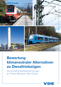 Picture of Bewertung klimaneutraler Alternativen zu Dieseltriebzügen (Download)