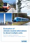 Picture of Evaluation of climate-neutral alternatives to diesel multiple units (Download)