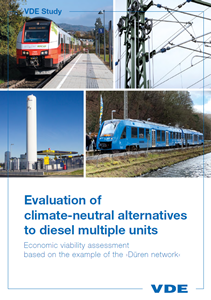 Bild von Evaluation of climate-neutral alternatives to diesel multiple units (Download)