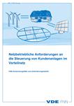 Picture of Netzbetriebliche Anforderungen an die Steuerung von Kundenanlagen im Verteilnetz