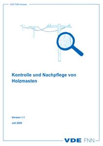 Bild von FNN-Hinweis: Kontrolle und Nachpflege von Holzmasten (Download)