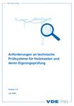 Picture of Anforderungen an technische Prüfsysteme für Holzmasten und deren Eignungsprüfung