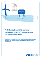 Bild von FNN Guideline: Grid forming behaviour of HVDC systems and DC-connected PPMs (Download)
