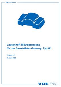 Bild von Lastenheft Mikroprozesse für das Smart-Meter-Gateway, Typ G1 (Download)