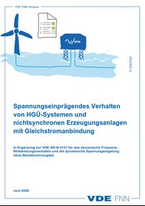 Bild von FNN Hinweis: Spannungseinprägendes Verhalten von HGÜ-Systemen und nichtsynchronen Erzeugungsanlagen mit Gleichstromanbindung (Download)
