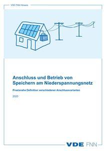 Bild von Anschluss und Betrieb von Speichern am Niederspannungsnetz (Download)