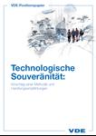 """Bild von Positionspapier """"Technologische Souveränität"""""""